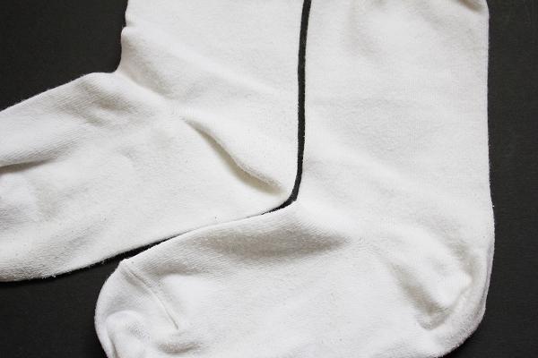 無印良品 | オーガニックコットン混足なり直角 厚地パイル靴下25~27cm・グレー 通販
