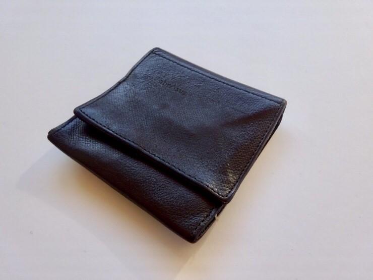 hot sale online fe791 de0fd 2年使用】abrAsus(アブラサス)の「薄い財布」をファッション ...